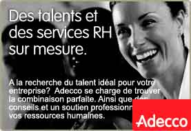 www.adecco.ch          Adecco Ressources Humaines SA    2800 Delémont