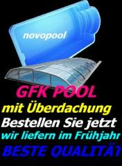 Swimming pool mit Überdachung ELEGANT Absoluter HIT