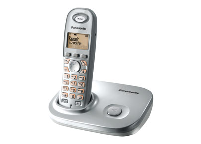 DECT Cordless/ECO-Mode/Silber