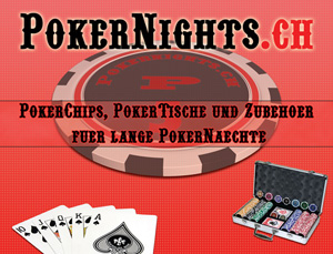 Pokernights.ch | Pokerchips, Pokertische und