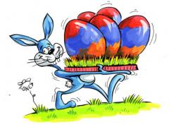 Agnes frohe Ostern!